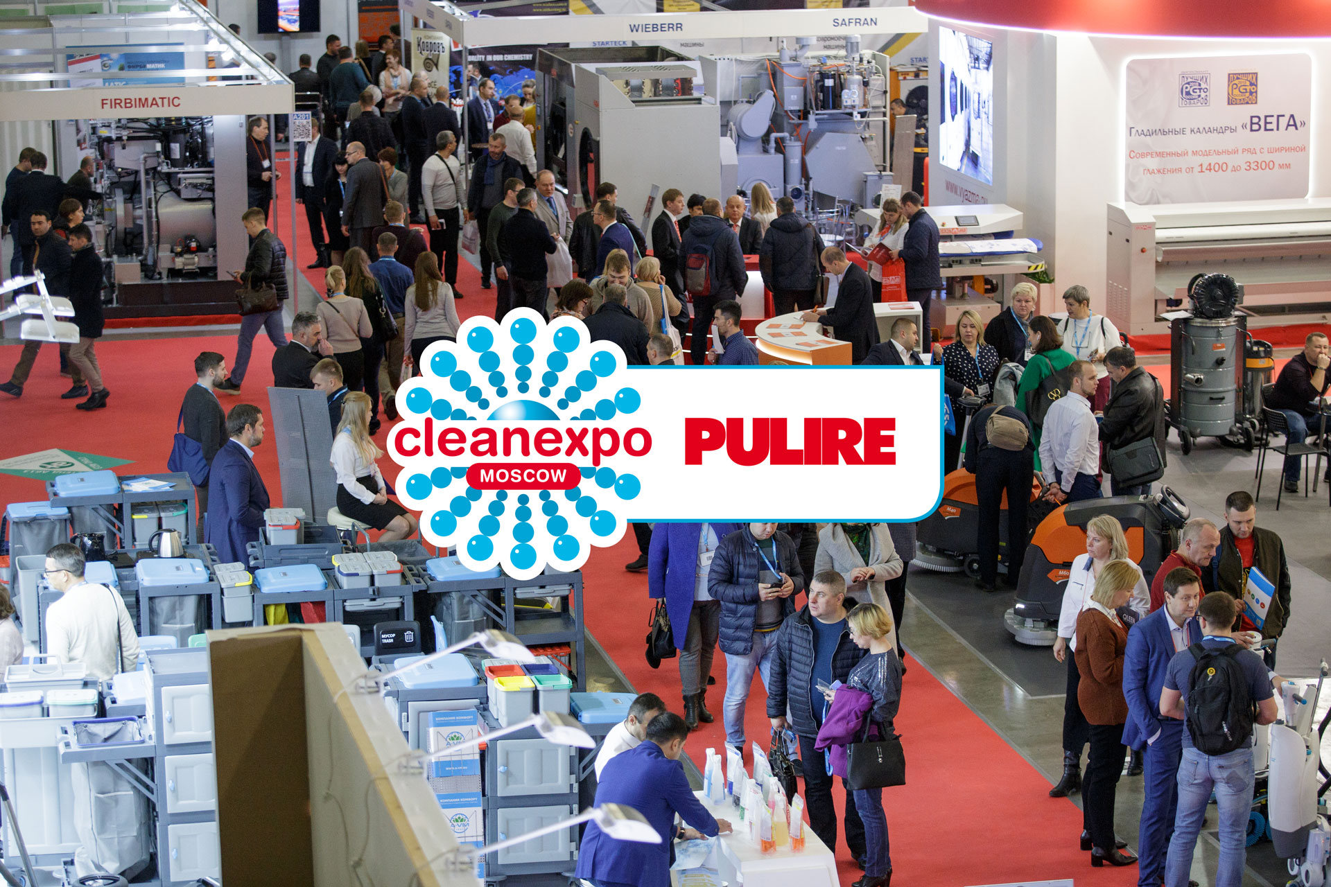CleanExpo Moscow | PULIRE 29–31 October 2019